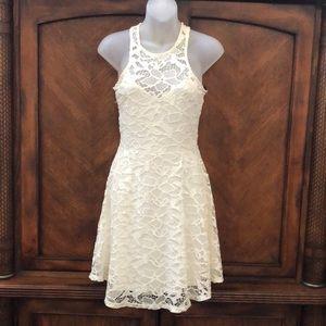 Material Girl off white dress
